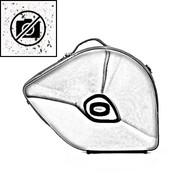 BAGS Waldhorn Formkoffer – schraubbarer Becher – Farbe: weiß matt fusion