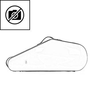 BAGS Tenorsaxophon Formkoffer – Farbe: weiß glänzend