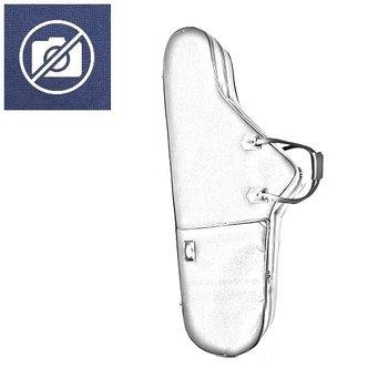 BAGS Baritonsaxophon Formkoffer – Tief B – Farbe: blau