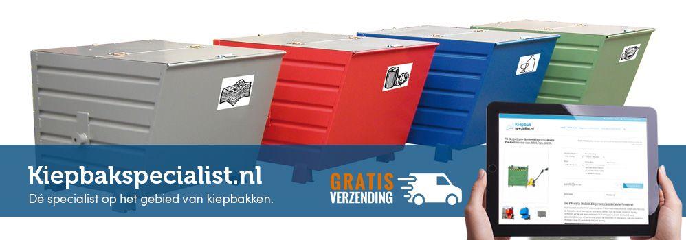 Kiepbakspecialist, Kiepbakken/Kiepcontainers met gratis levering!