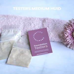 Creative Cosmetics Medium huid foundation testers