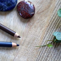 3 basis ooglooks met de Natural Organic Eyeliner Pencils