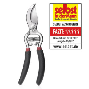 SKS 6 Tradition 17cm Schwarz/Klinge silber