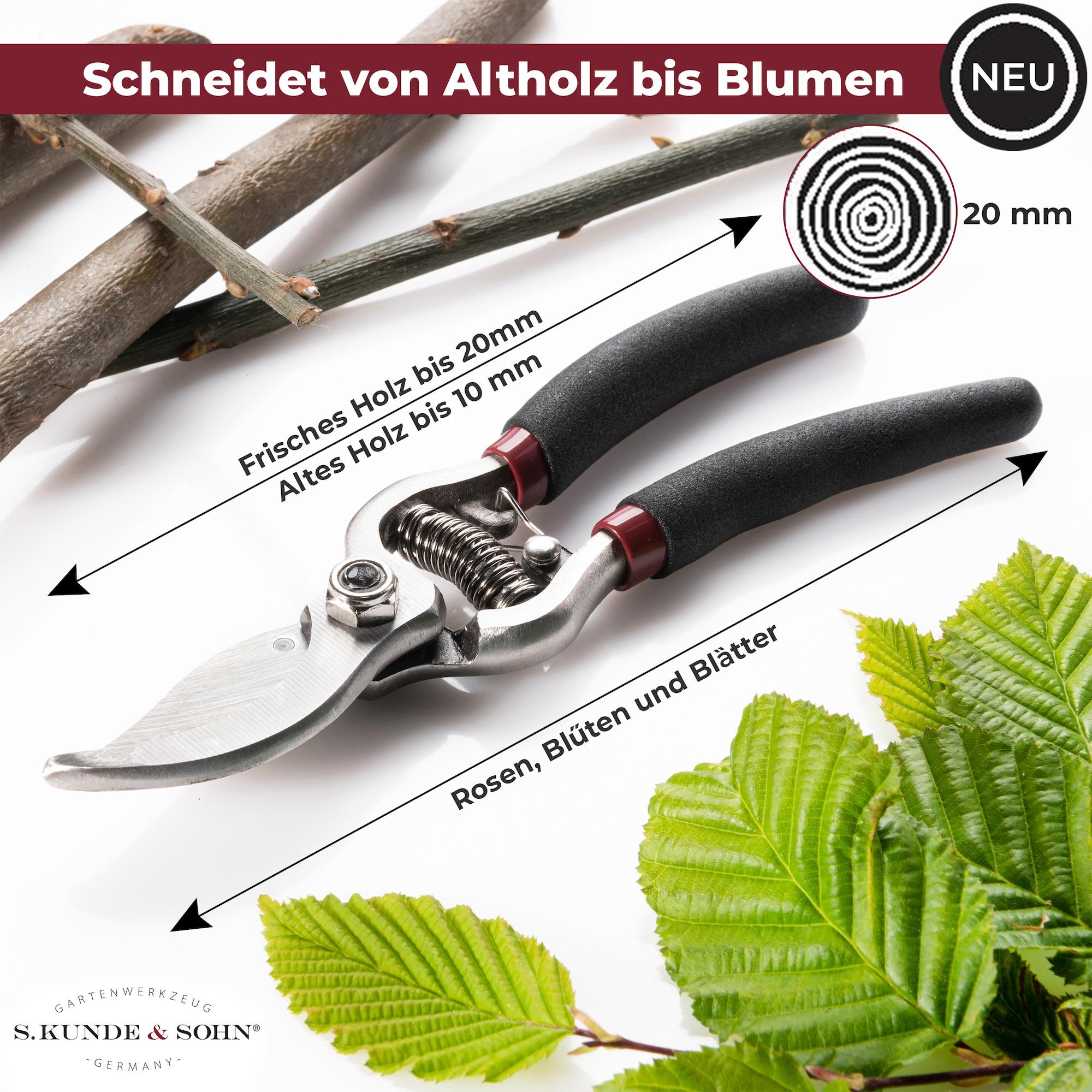 S. Kunde & Sohn Germany SKS 6 Tradition Schwarz/Klinge silber