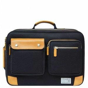Venque Briefpack XL - Zwart