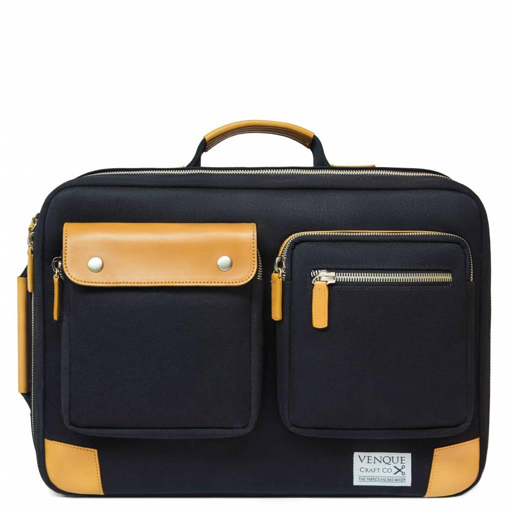 Briefpack XL - Zwart