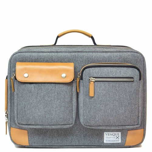 Venque Briefpack XL - Gray