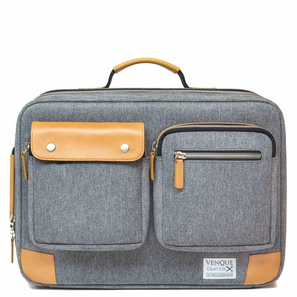 Xl Briefpack Briefpack Venque Venque Grijs Xl Laptoptas xdWreCBo