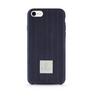 Revested iPhone 7/8 Plus Hoesje - Pinstripe Blue