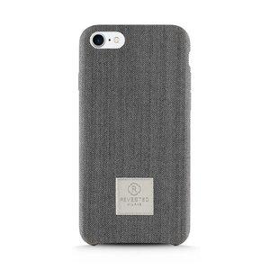 Revested iPhone 7/8 Plus Case - Herringbone Gray