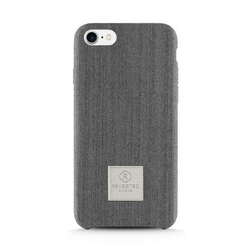 Revested iPhone 7/8 Plus Hoesje - Herringbone Grey