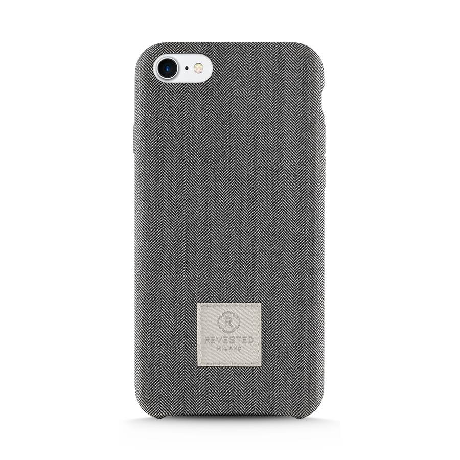 iPhone 7/8 Plus Hoesje - Herringbone Grey
