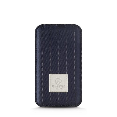 Revested Power Bank - Pinstripe Blue