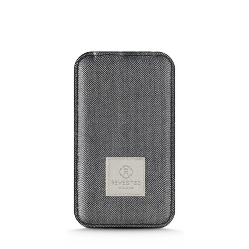 Revested Power Bank - Herringbone Gray