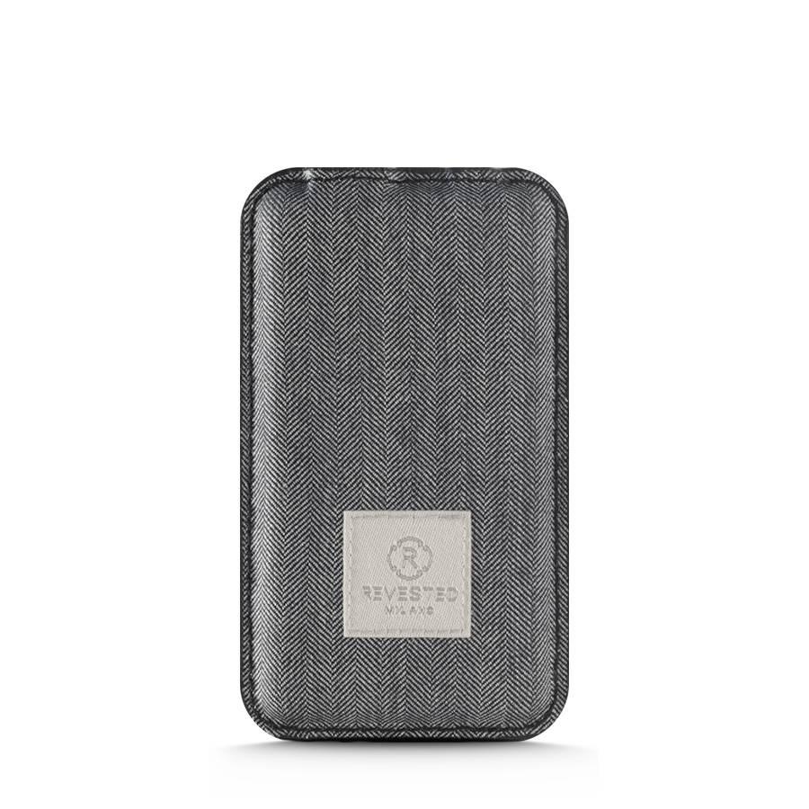Power Bank - Herringbone Grey