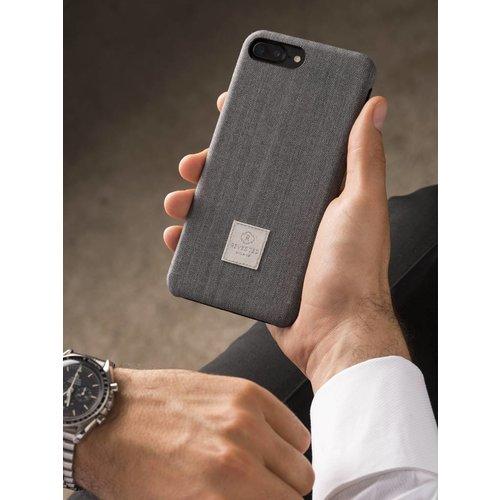 Revested iPhone 7/8 Plus Hoesje - Herringbone Grey