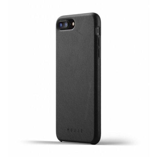 Mujjo Leren Hoesje voor iPhone 7/8 Plus - Zwart