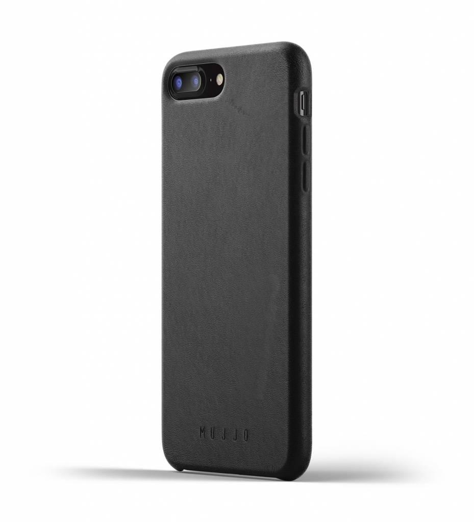 Leren Hoesje voor iPhone 7/8 Plus - Zwart