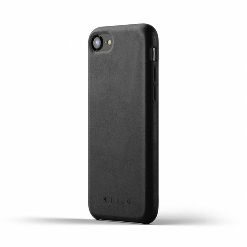 Mujjo Leather Case iPhone 7/8 - Black