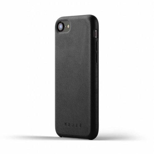 Mujjo Leren Hoesje iPhone 7/8 - Zwart