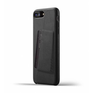Mujjo Leather Wallet iPhone 7/8 Plus - Black
