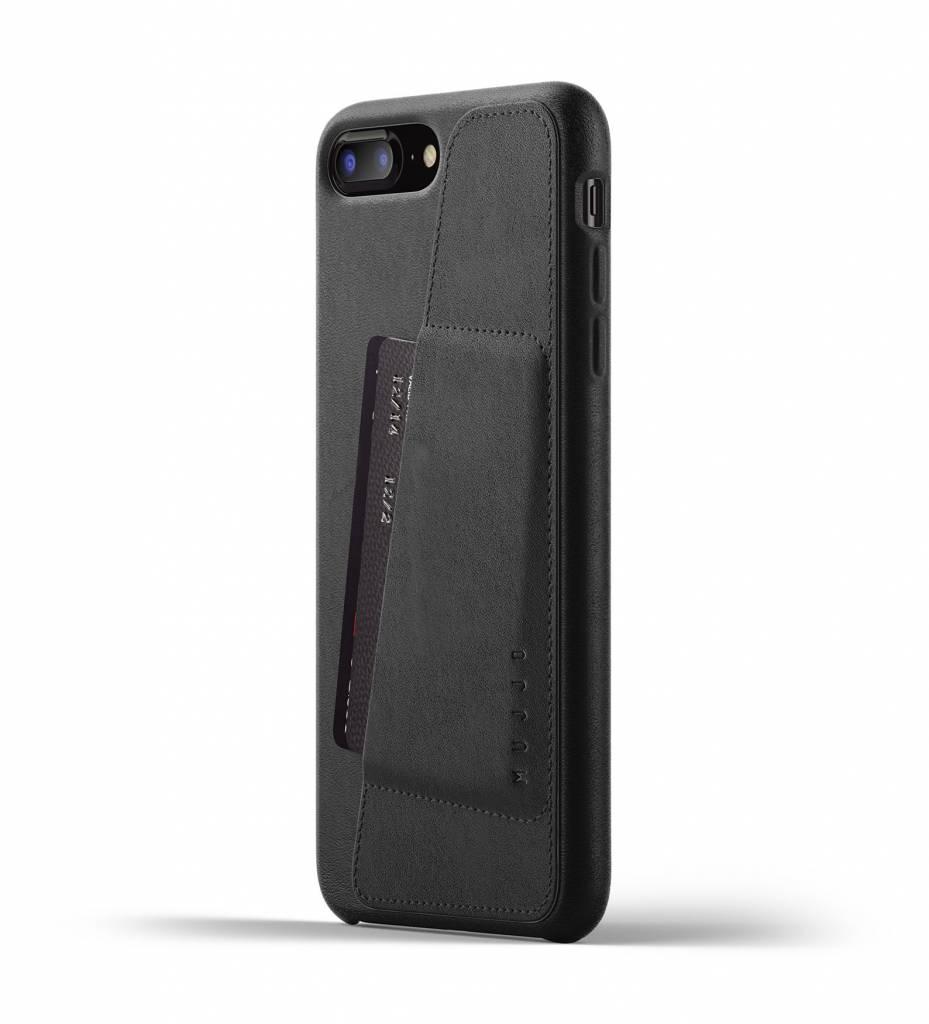 Leren Wallet voor iPhone 7/8 Plus - Zwart