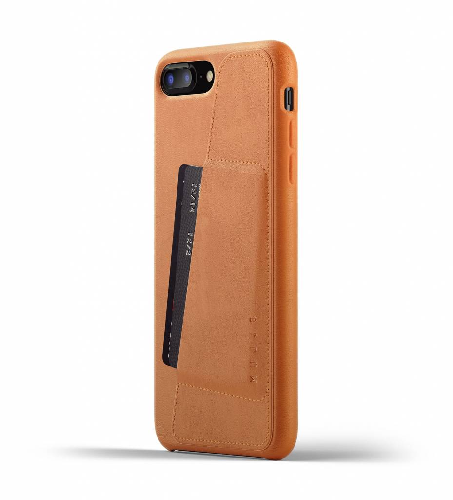 Leather Wallet iPhone 7/8 Plus - Brown