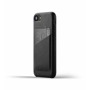 Mujjo Leather Wallet for iPhone 7/8 - Black
