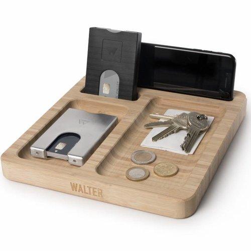 Walter Wallet Aluminum Walter Wallet - Matte Black