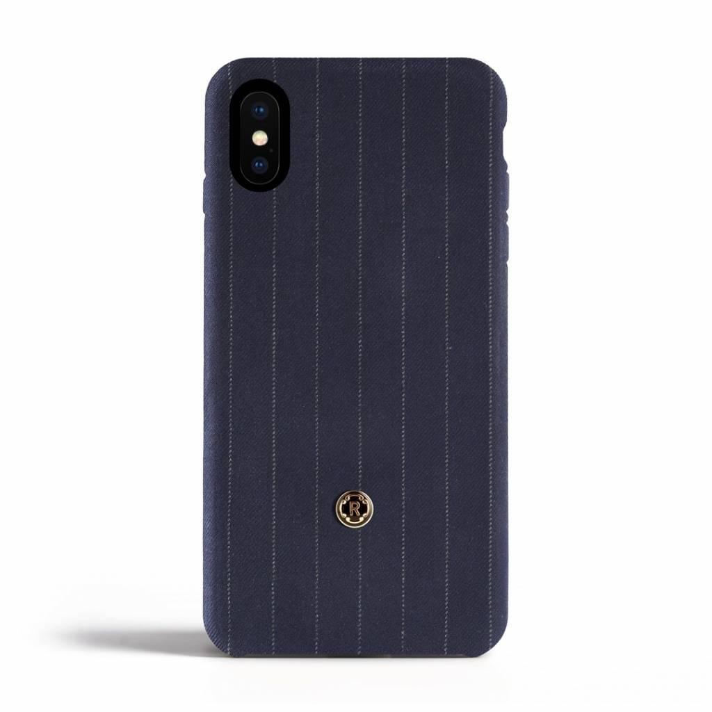 iPhone X / Xs Case - Pinstripe Blue