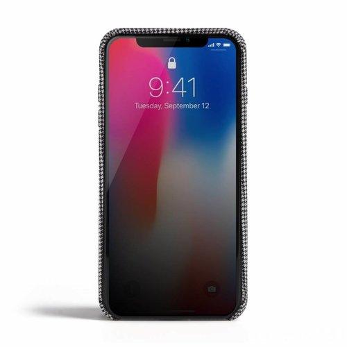 Revested iPhone X/Xs Hoesje - Pied de Poule