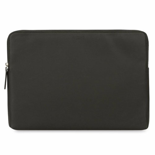 "Knomo 15"" Embossed Laptop Sleeve - Black"