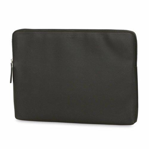 """Knomo 15"""" Embossed Laptop Sleeve - Black"""