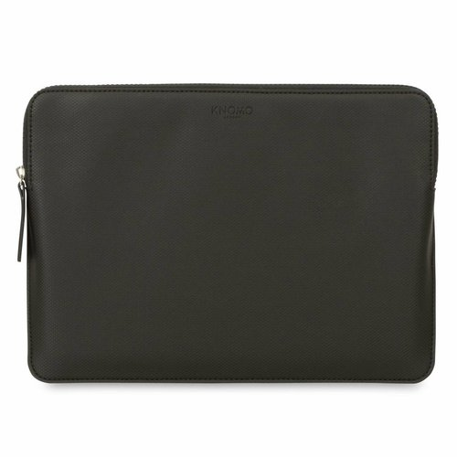 "Knomo 13"" Embossed Laptop Sleeve - Black"