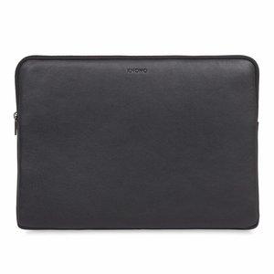 """Knomo Leren Laptop Sleeve 15"""" - Black"""
