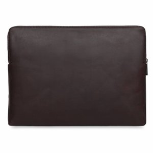 "Knomo 15"" Leren Laptop Sleeve - Brown"