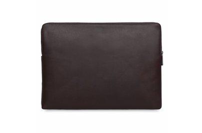 "Knomo Leren Laptop Sleeve 15"" Bruin"