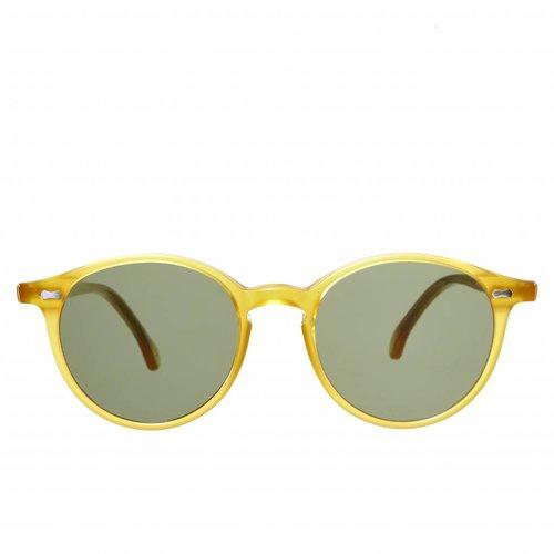 The Bespoke Dudes Eyewear Cran - Honey /  Bottle Green