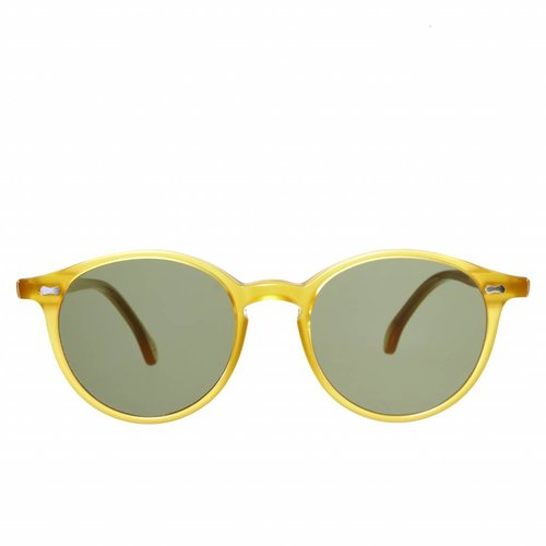 The Bespoke Dudes Eyewear Cran - Honey / Bottle Green