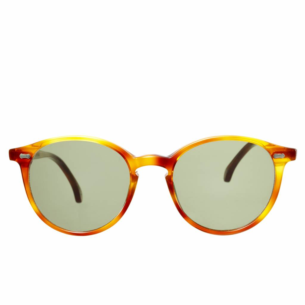 The Bespoke Dudes Eyewear The Bespoke Dudes Eyewear Cran Classic Tortoise /  Bottle Green
