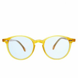 The Bespoke Dudes Eyewear Cran - Honey / Blue