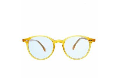 The Bespoke Dudes Eyewear Cran Honey /  Blue