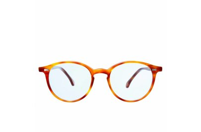 The Bespoke Dudes Eyewear Cran Classic Tortoise /  Blue