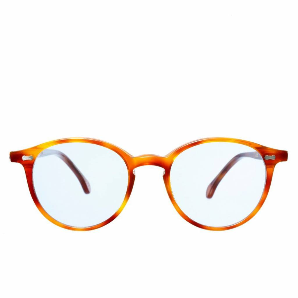 The Bespoke Dudes Eyewear The Bespoke Dudes Eyewear Cran Classic Tortoise /  Blue