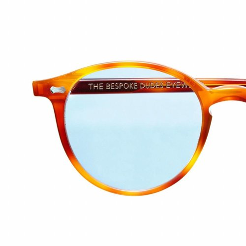 The Bespoke Dudes Eyewear Cran - Classic Tortoise /  Blue