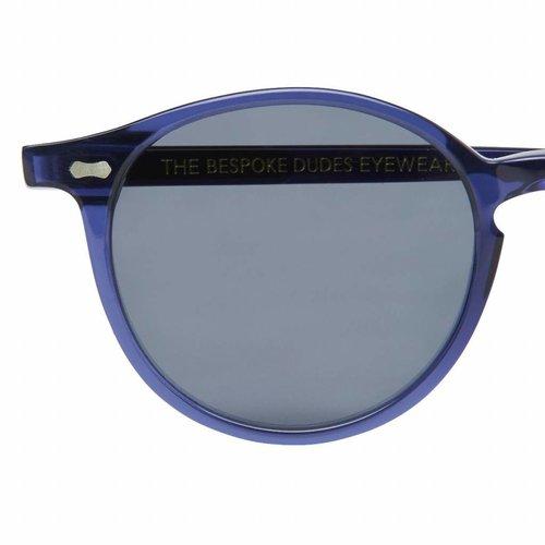 The Bespoke Dudes Eyewear Cran - Blue / Gradient Gray