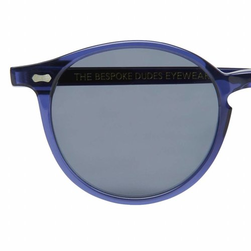The Bespoke Dudes Eyewear Cran - Blue / Gradient Grey
