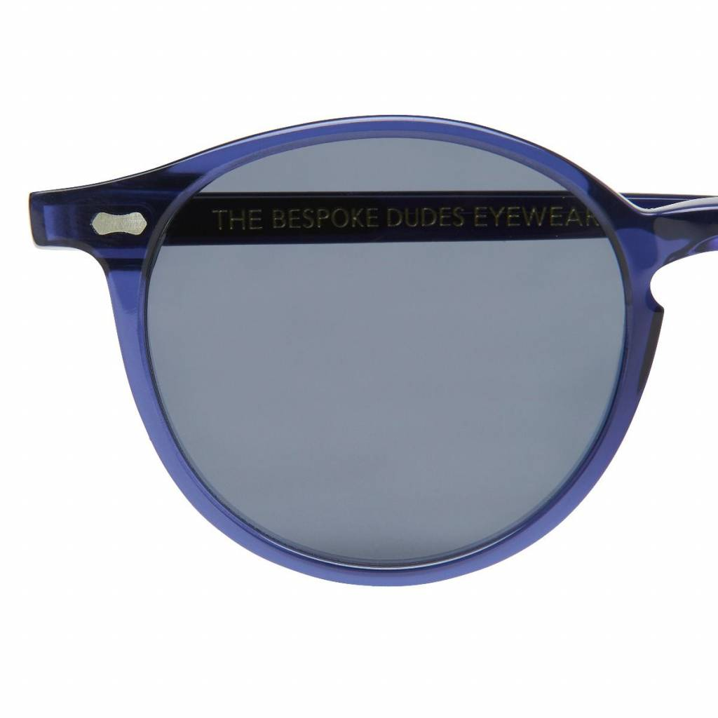 The Bespoke Dudes Eyewear The Bespoke Dudes Eyewear Cran Blue / Gradient Grey