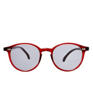 The Bespoke Dudes Eyewear Cran - NGA Red / Gradient Grey
