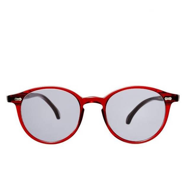 The Bespoke Dudes Eyewear The Bespoke Dudes Eyewear Cran NGA Red / Gradient Grey